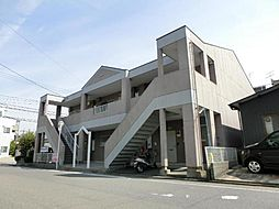 愛知県清須市阿原神門の賃貸アパートの外観