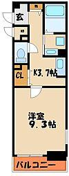 アーズ アーズ[1階]の間取り