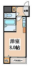 CTビュー小阪[6階]の間取り