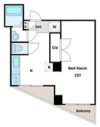 東和マンション[2階]の間取り