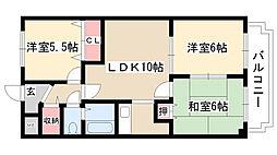 メゾン五反田[205号室]の間取り