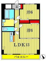 K.Mおおたかの森[9階]の間取り