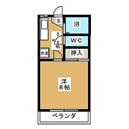 MTコーポI[1階]の間取り