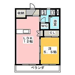 サイレント[2階]の間取り