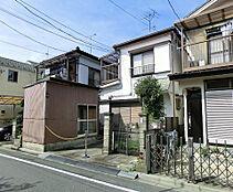 東京都江戸川区北篠崎1丁目にある売地の外観です。