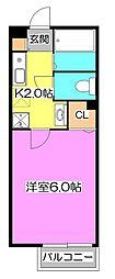第4富士ハイツ[1階]の間取り