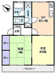 メゾン高台[1階]の間取り