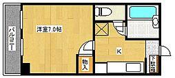 ル・パピヨン[6階]の間取り