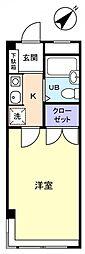 ビューシティ津田沼[2階]の間取り