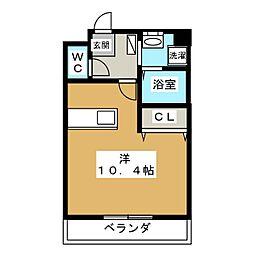 ポラリス[3階]の間取り