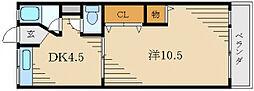 第2田村マンション[3階]の間取り