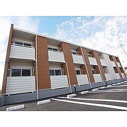 奈良県香芝市すみれ野の賃貸アパートの外観