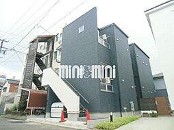 愛知県名古屋市北区黒川本通3丁目の賃貸アパートの外観