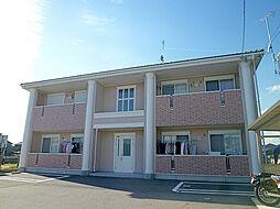 滋賀県栗東市中沢3丁目の賃貸アパートの外観