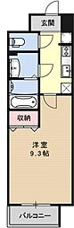 Y's House[302号室号室]の間取り