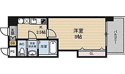ラグゼ新大阪EAST2[3階]の間取り