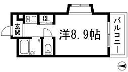 池田マンション[1階]の間取り