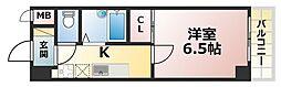 エクレール六甲[3階]の間取り