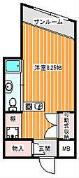 ハイツヤマサキ[4階]の間取り