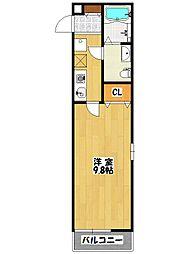 La Sua Casa.S[3階]の間取り