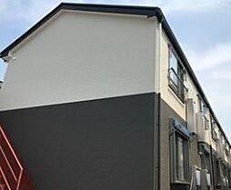 千葉県流山市鰭ケ崎の賃貸アパートの外観
