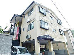 福岡県北九州市門司区春日町の賃貸アパートの外観