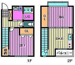 [テラスハウス] 埼玉県川口市元郷2丁目 の賃貸【/】の間取り
