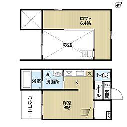 i・Room[203号室]の間取り