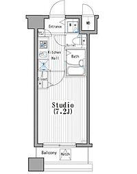 ガーラステーション木場[2階]の間取り