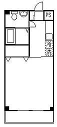 ヴィラヴェルデ[2階]の間取り