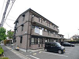 埼玉県草加市長栄4丁目の賃貸アパートの外観