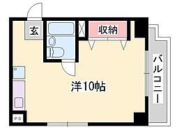 ジュネス姫路I[2階]の間取り