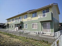 滋賀県高島市新旭町熊野本2丁目の賃貸マンションの外観