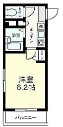 ジュネス新大塚[3階]の間取り