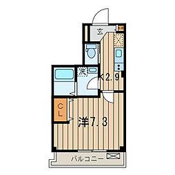 ラ・メール ヒダカ 関内 917575[1階]の間取り