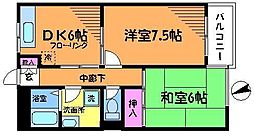 アイビーコート(三菱地所ハウスネット)[2階]の間取り