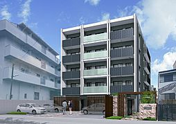 大阪府茨木市元町の賃貸マンションの外観
