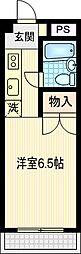 タカムラビル[203号室]の間取り