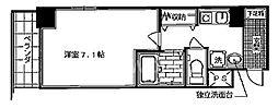 KDXレジデンス西院[301号室号室]の間取り