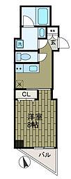 K.FLATS[3階]の間取り