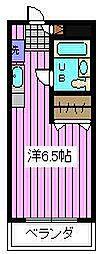 サンコート東浦和[202号室]の間取り
