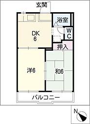 NAOI[2階]の間取り