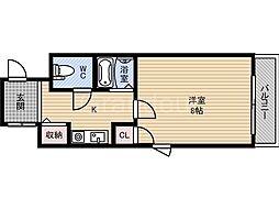 シードハイツ[2階]の間取り