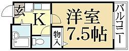 CASA50[4階]の間取り