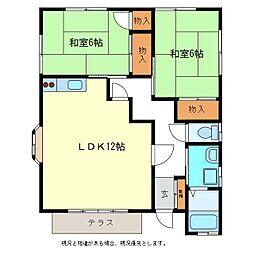 [一戸建] 長野県長野市大字西尾張部 の賃貸【/】の間取り