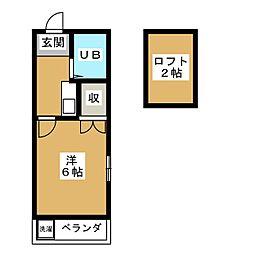 高輪台駅 6.9万円