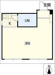 ジュネス54[2階]の間取り