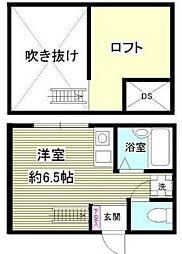 相模原市中央区東洲野辺新築アパート[203号室]の間取り