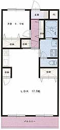 ファーストシティ松嶋[2階]の間取り