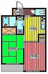 グリーンテラスPART2[3階]の間取り